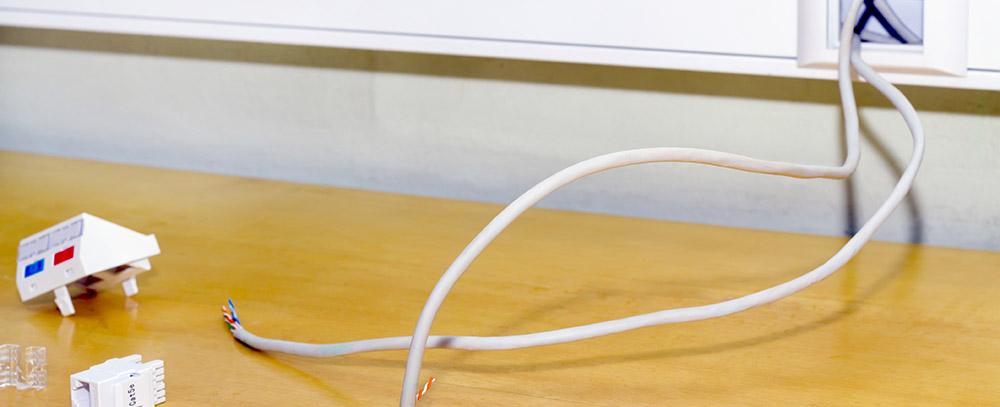 Câblage informatique : Eurl Gallard Électricité à Rubescourt